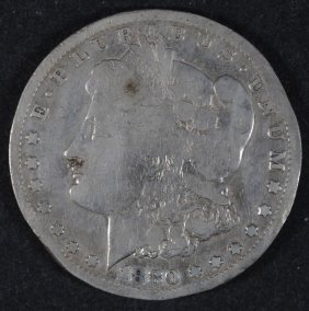 1880-cc Morgan Dollar Ag