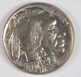 1937 Buffalo Nickel, Gem Bu+