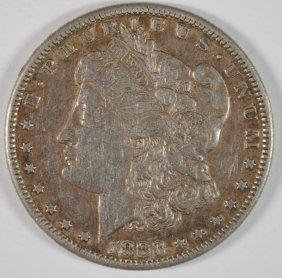 1883-s Morgan Silver Dollar, Au
