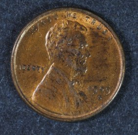 1909-s Vdb Lincoln Cent Ch Bu Key Date Nice Example