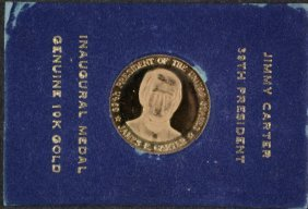 Jimmy Carter 39th Presidential Inaugural 10kt Gold