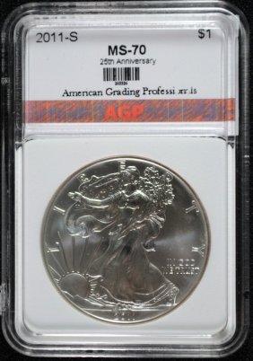 2011-s 25th Anniversary American Silver Eagle, Agp