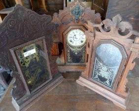 3 Ginger Bread Kitchen Clocks