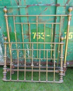 Ornate Brass Bed