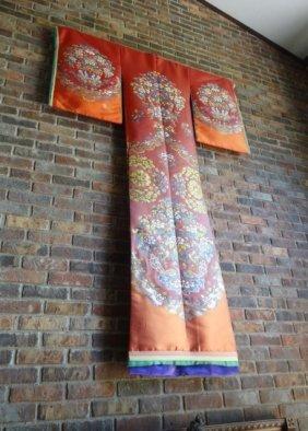 Large Japanese Handmade Kimono