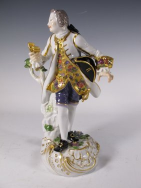 Antique German Meissen Porcelain Figurine