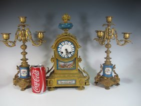 James Foord English Clock Set, Japy Freresa Machinery