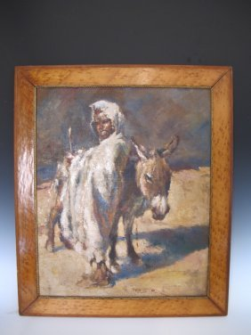 Pal Fried (1893-1976) Oil On Canvas Painting