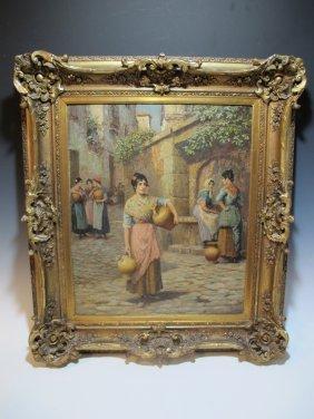 Arthur Trevor Haddon (1864-1941) Painting