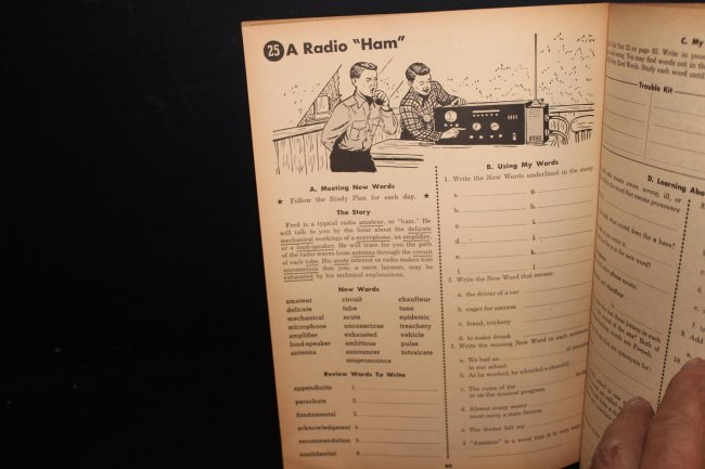 Word Mastery Speller by David H. Patton 1951