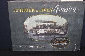 This Is A Great Book Of Currier And Ives With 85 Choice