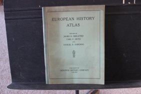 1929 European History Atlas 42 Full-page Maps With