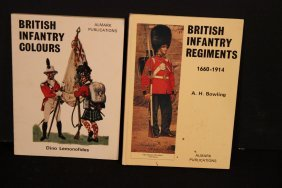 2 Books On British Infantry 1660-1914 Paperback 1971