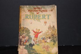 More Adventures Of Rupert -well Used But Pages Are Exc.