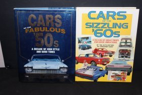 2 Great Books - Cars Of The 50's - Cars Of The 60's -