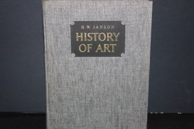 Super 572 Pg. Cloth Bound Book By H.w. Janson - History