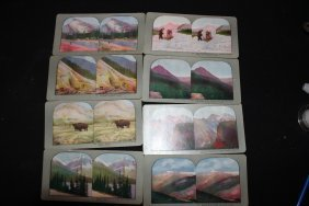 8 View Cards Of Canada - All In Exc. Cond