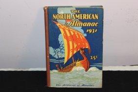 Super Hard Cover 1931 North America Almanac - Orig.