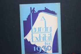Interesting Old 1930 Advertising 55 Page Booklet - A