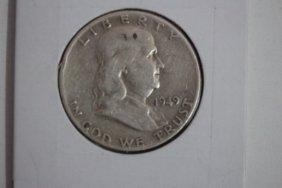 1949 Franklin Half-dollar Fine