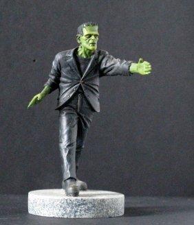 Karloff Frankenstein Micro Monster - Geometric Design,