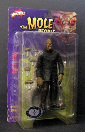 "The Mole People - 8"" Action Figure - Sideshow Toy, 2000"