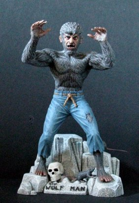 The Wolf Man - Vintage Aurora Classic Monster Kit -