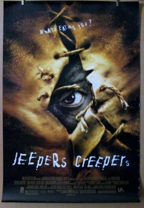 "Jeepers Creepers - 2001 - One Sheet Movie Poster - 27""x"