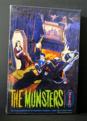 The Munsters Living Room Scene - Re-issue Of The