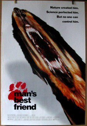 Man's Best Friend - 1993 - One Sheet Movie Poster -