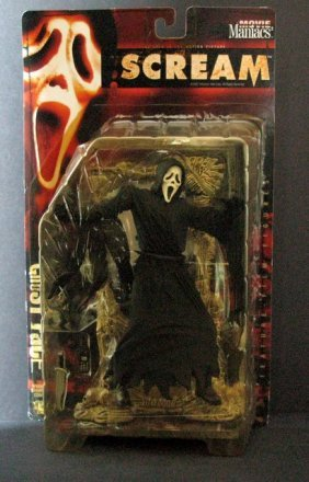 "Ghost Face - Scream - 7"" Action Figure - Mcfarlane"