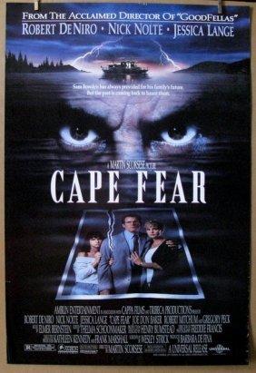 Martin Scrosese's Cape Fear - 1991 - One Sheet Movie