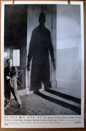 Woody Allen's Shadows And Fog - 1992 - One Sheet Movie
