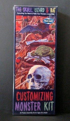 Customizing Monster Kit #1: Skull, Lizard & Rat
