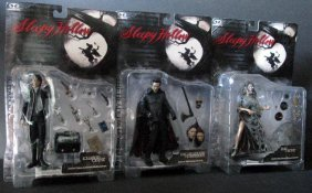 "Sleepy Hollow 7"" Action Figures - Lot Of Three -"