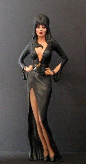 Elvira Mistress Of The Dark Pro Painted Model Figure -