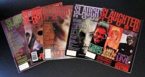 Slaughterhouse Magazine - Complete Run Of Five Issues -