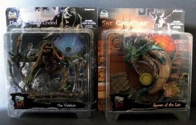 Day The World Ended Action Figures Lot Of Two - Stan