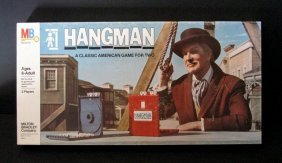 Vincent Price - Hangman Game - Milton Bradley, 1976 -