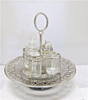 Silver Plated Cruet Set