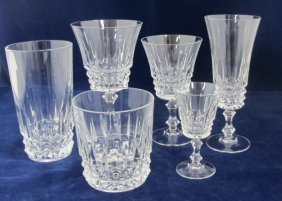 Collection Of Lead Crystal Stemware To Include 10 Water