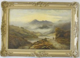 On The Conway, North Wales By Sidney Yates Johnson,