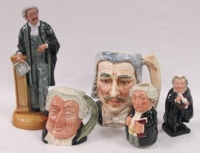 Collection Of Royal Doulton Lawyers To Include The