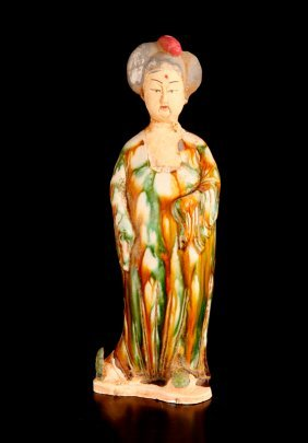 Chinese Tang Style Porcelain Figure