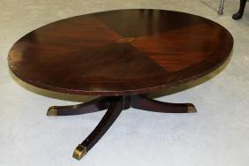 Inlaid Mahogany Coffee Table