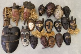 African Tribal Mask Collection