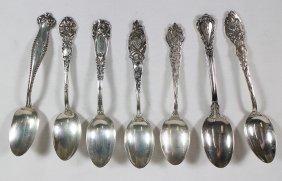 (7) Sterling Silver Teaspoons