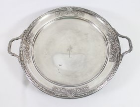 Sterling Silver Double Handled Centerpiece Tray