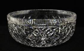 Large Waterford Crystal Centerpiece Bowl