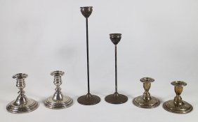 Sterling Candlesticks